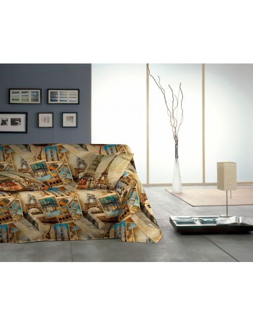 Foulard sofa Postale