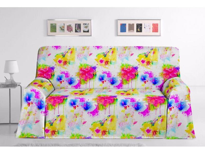 Foulard sofa Grafitti