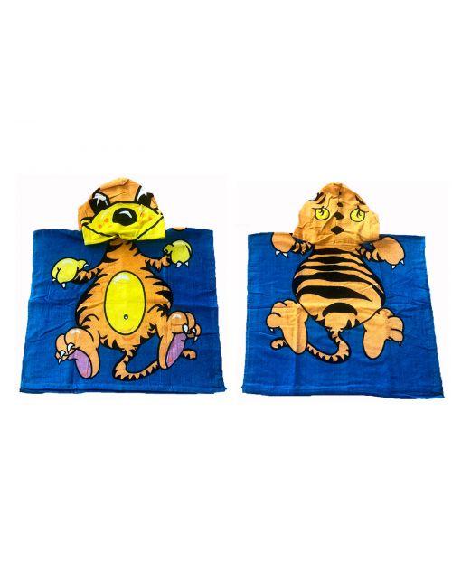 Toalla Poncho Infantil Tigre
