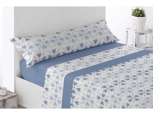 Sábanas de coralina Jimena Azul