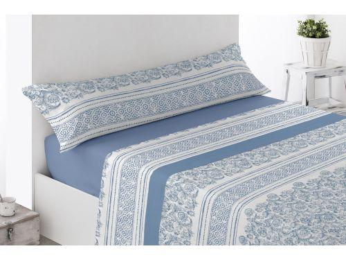 Sábanas de coralina Castillo Azul
