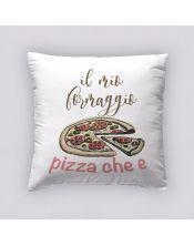 Funda Cojín Reversible Pizza