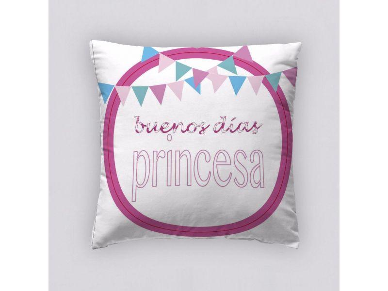 Funda Cojín Reversible Princesa