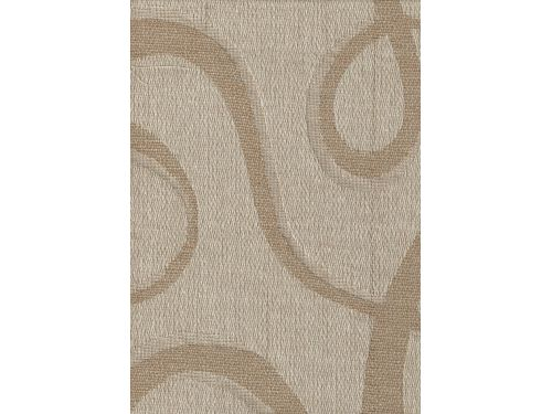Colcha Foulard Multiusos Jacquard Abstract Beige A