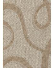 Colcha Foulard Multiusos Jacquard Abstract Beige A