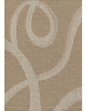 Colcha Foulard Multiusos Jacquard Abstract Beige B