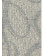 Colcha Foulard Multiusos Jacquard Abstract Gris A