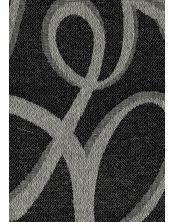 Colcha Foulard Multiusos Jacquard Abstract Negro B
