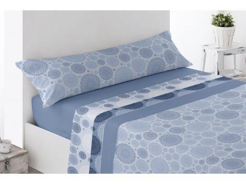Juego sábanas Fontanar Azul