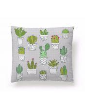 Funda Cojín Reversible Cactus