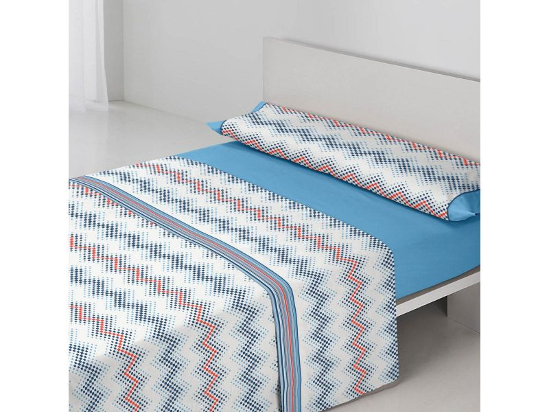 Juego sábanas Dana Azul