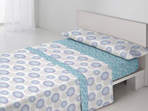 Juego sábanas Eva Azul