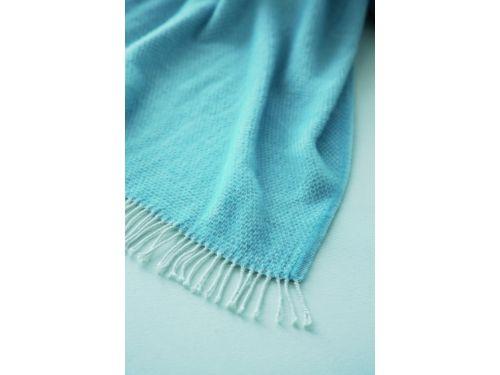 Manta para sofá plaid NATURALS azul