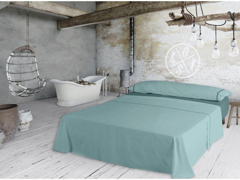 Juego de sábanas IBIZA Lois verde