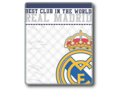 Plaid EMBLEMA REAL MADRID