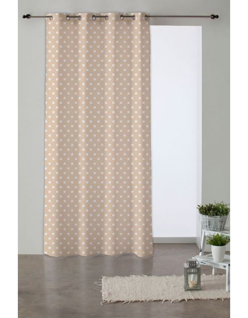 Cortina Candy Star Beige