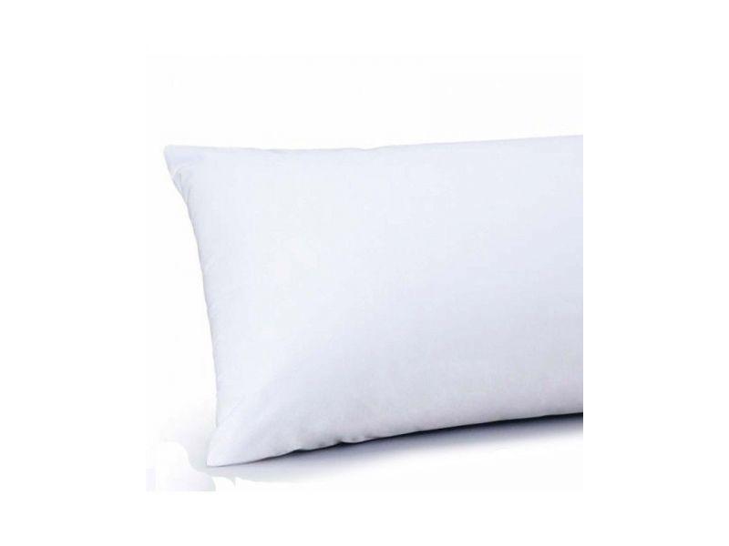 Funda almohada algodón blanca Hipermanta