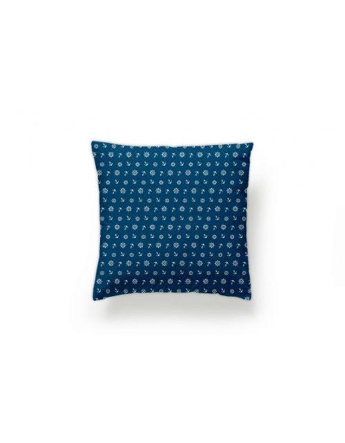 Funda cojín Ancora Azul