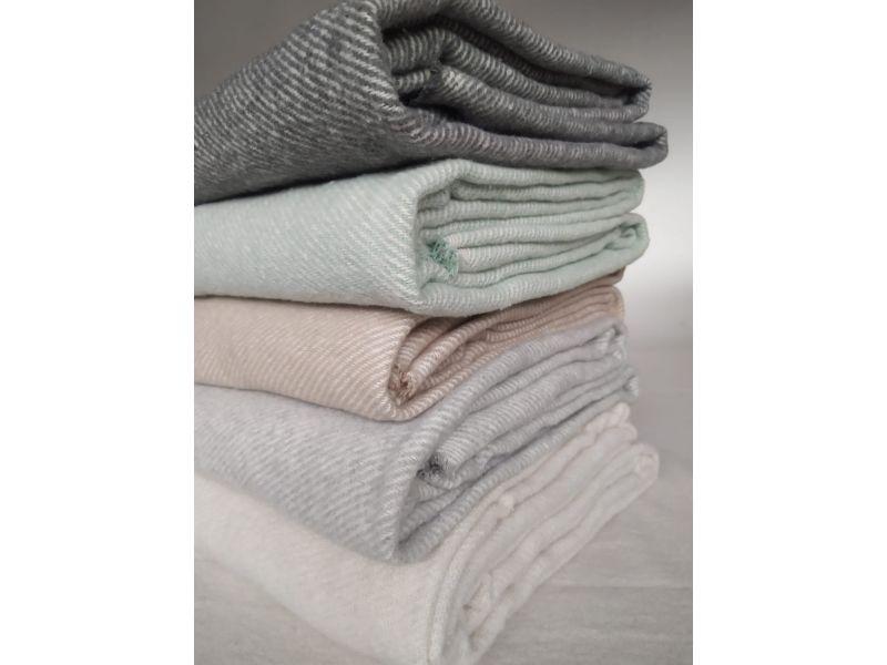 Manta plaid para sofá algodón
