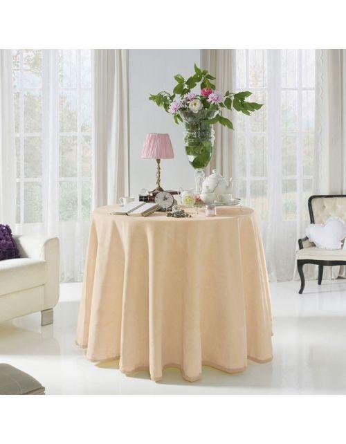 Falda mesa camilla ovalada 4047 Pielsa, acrílico/poliéster