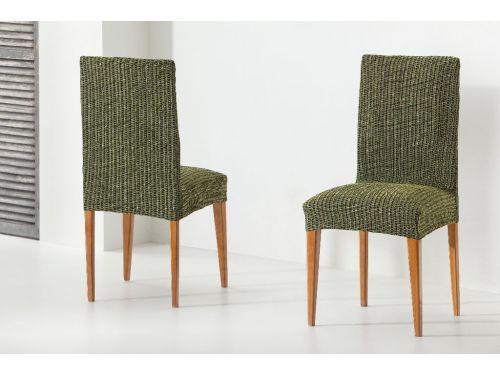 fundas para sillas con respaldo Tivoli negro