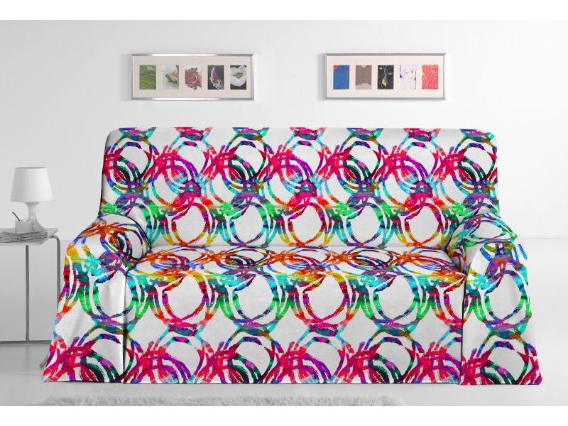 Colcha Foulard sofa Ocean
