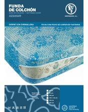 Funda colchón elástica punto estampada Azahar