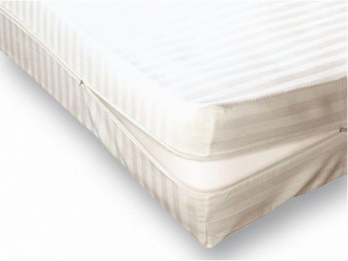 Funda colchón algodón blanca París