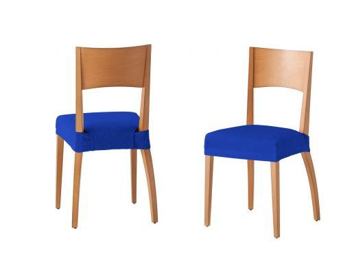Funda silla Túnez azul eléctrico