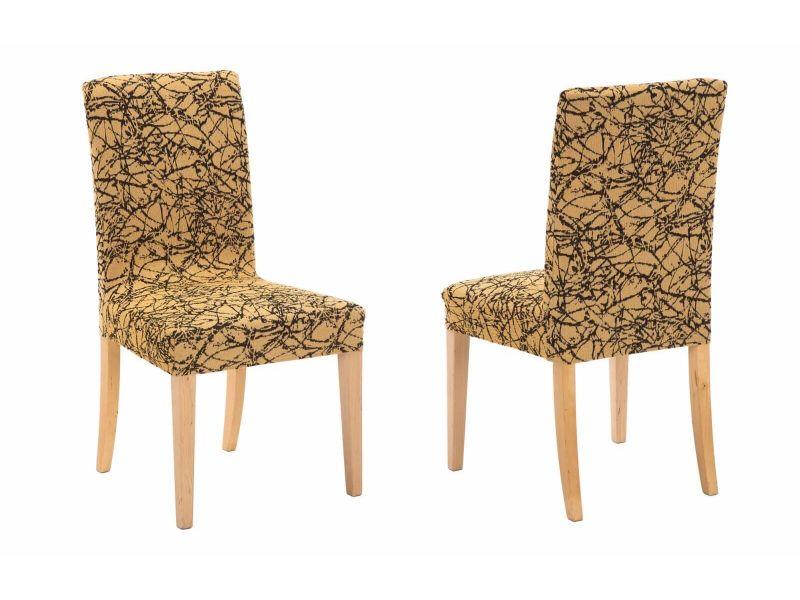 fundas para silla con respaldo nica amarillo