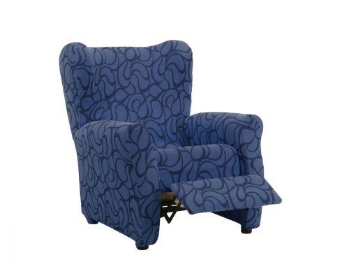 Funda sillon relax Tous azul