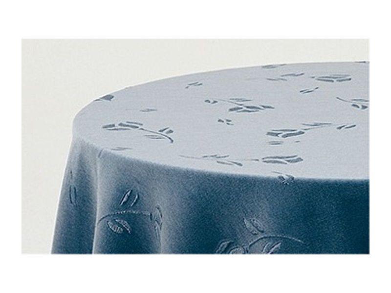 Falda mesa camilla rectangular terciopelo azul
