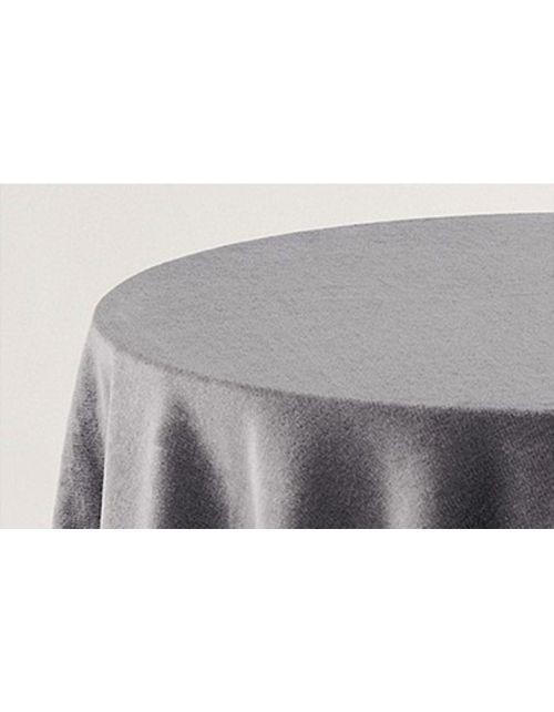 Falda mesa camilla terciopelo cuadrada lisa