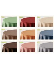 Falda mesa camilla rectangular lisa colores