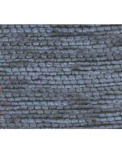 Falda mesa camilla redonda Altea azul