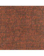 Falda mesa camilla redonda Malta marron-naranja
