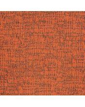 Falda mesa camilla redonda Malta naranja-marron