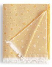 Colcha multiusos estrella cenital amarillo