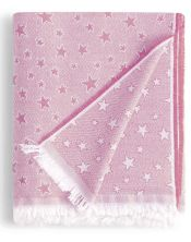 Colcha multiusos estrella cenital rosa