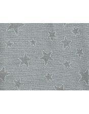 Colcha multiusos estrella detalle gris claro