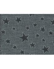 Colcha multiusos estrella detalle gris oscuro