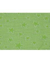 Colcha multiusos estrella detalle kiwi