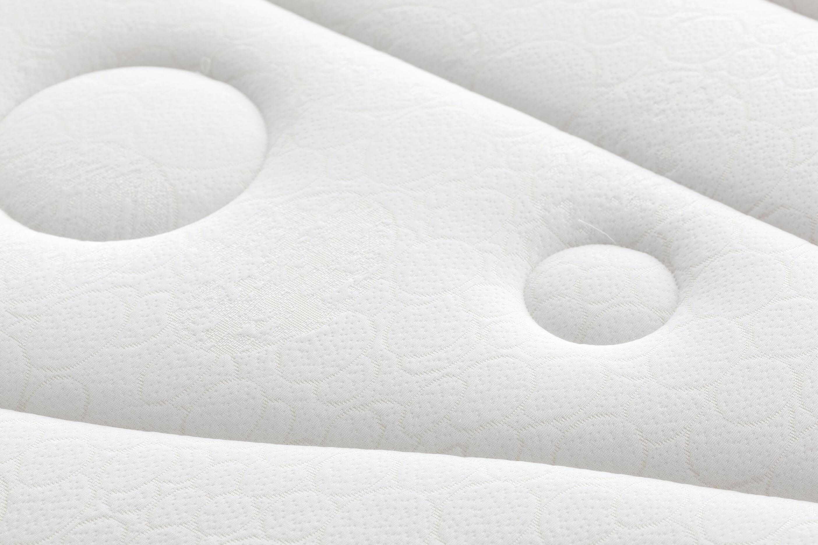Detalle cara verano colchón ortopédico lana