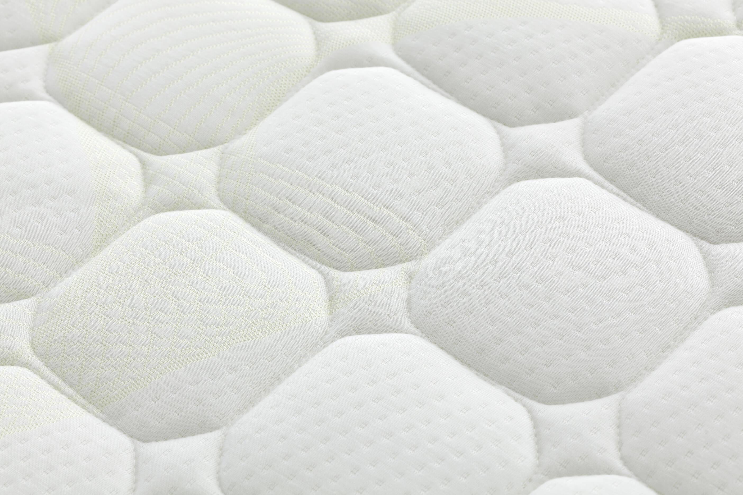 detalle tejido exterior colchón polimax